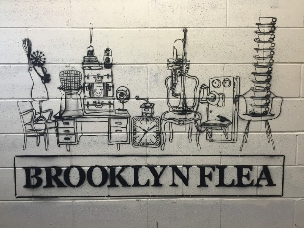 Brooklyn Flea mural