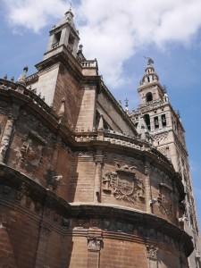 Cathedral de Seville thesweetwanderlust.com