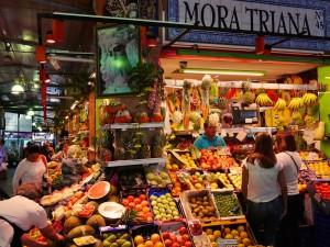 Triana Market Mercado de Triana Seville www.thesweetwanderlust.com